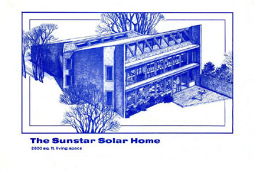 Sunstar Solar house - plans avaliable.
